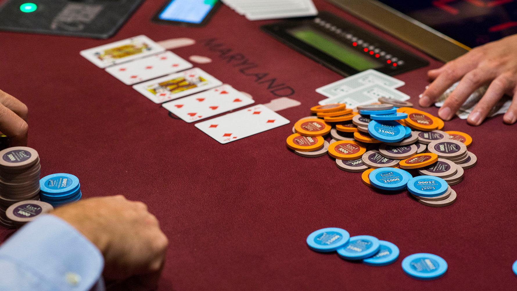 gambling casino board